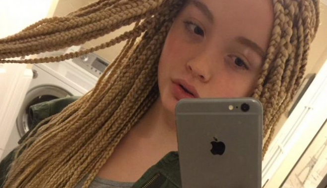 12 Year Old White Girl Gets Harshly Criticized For Showing