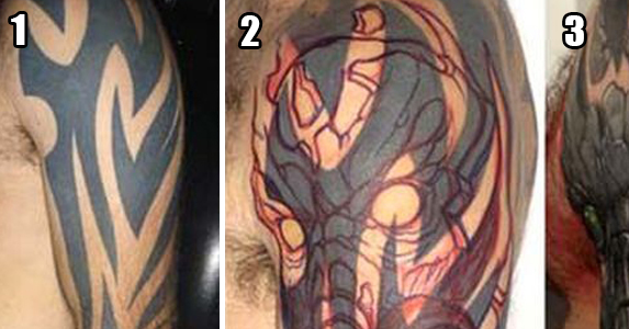 The Best Cover Up Tattoos (10 Photos)