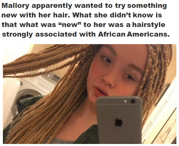 12 Year Old White Girl Gets Harshly Criticized For Showing Off Her