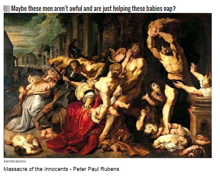 These Historical Paintings Are Actually Quite Disturbing To