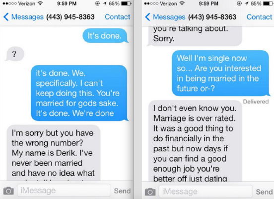 Fabulous 15 People Who Simply Texted It's Done To Random Phone Numbers (16  &NZ03